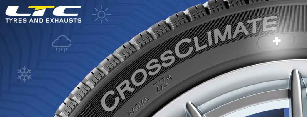 The Michelin CrossClimate + Tyres Now available at LTC Tyres and Exhausts!