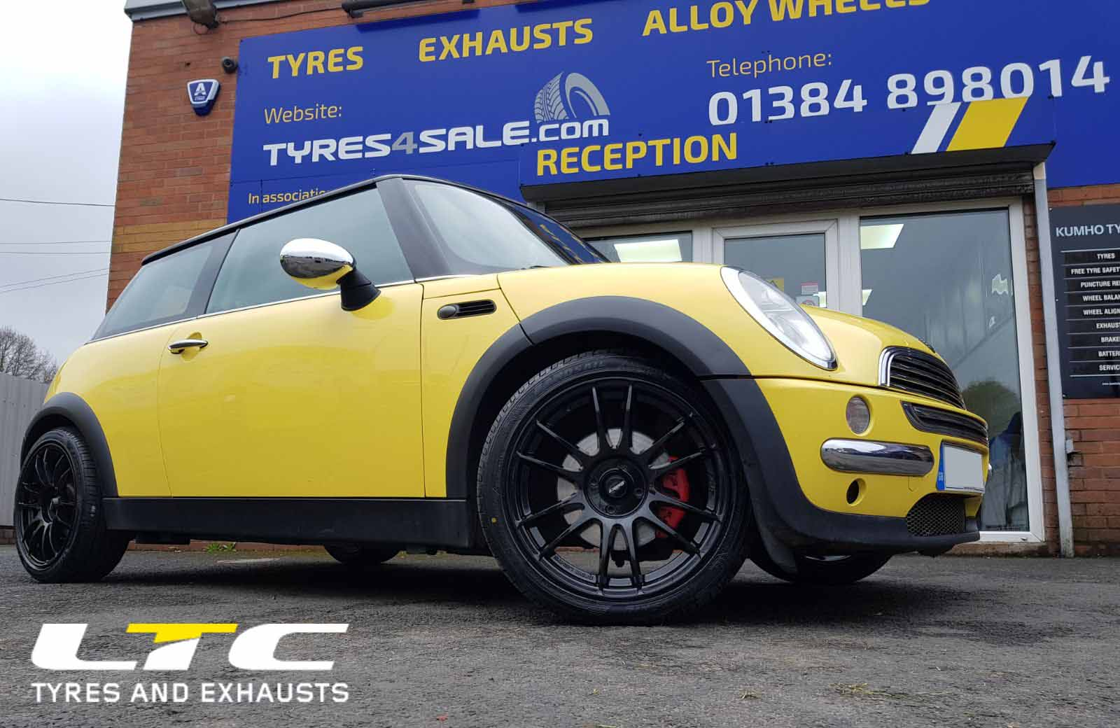 Set Of Calibre Suzuka 17 Quot Alloy Wheels Fitted To Mini Tyres4sale Com
