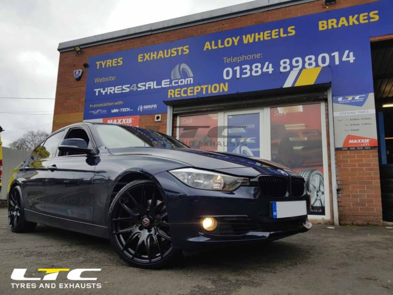 Wolfrace Munich 20 Alloy Wheels Gloss Black For Bmw 3 Series Tyres4sale Com