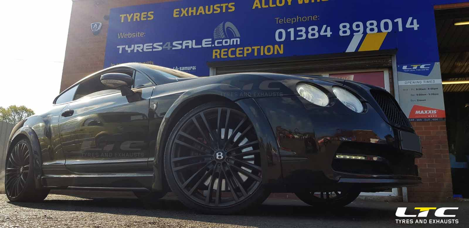 SSR 3 Alloy wheels for Bentley Continental GT
