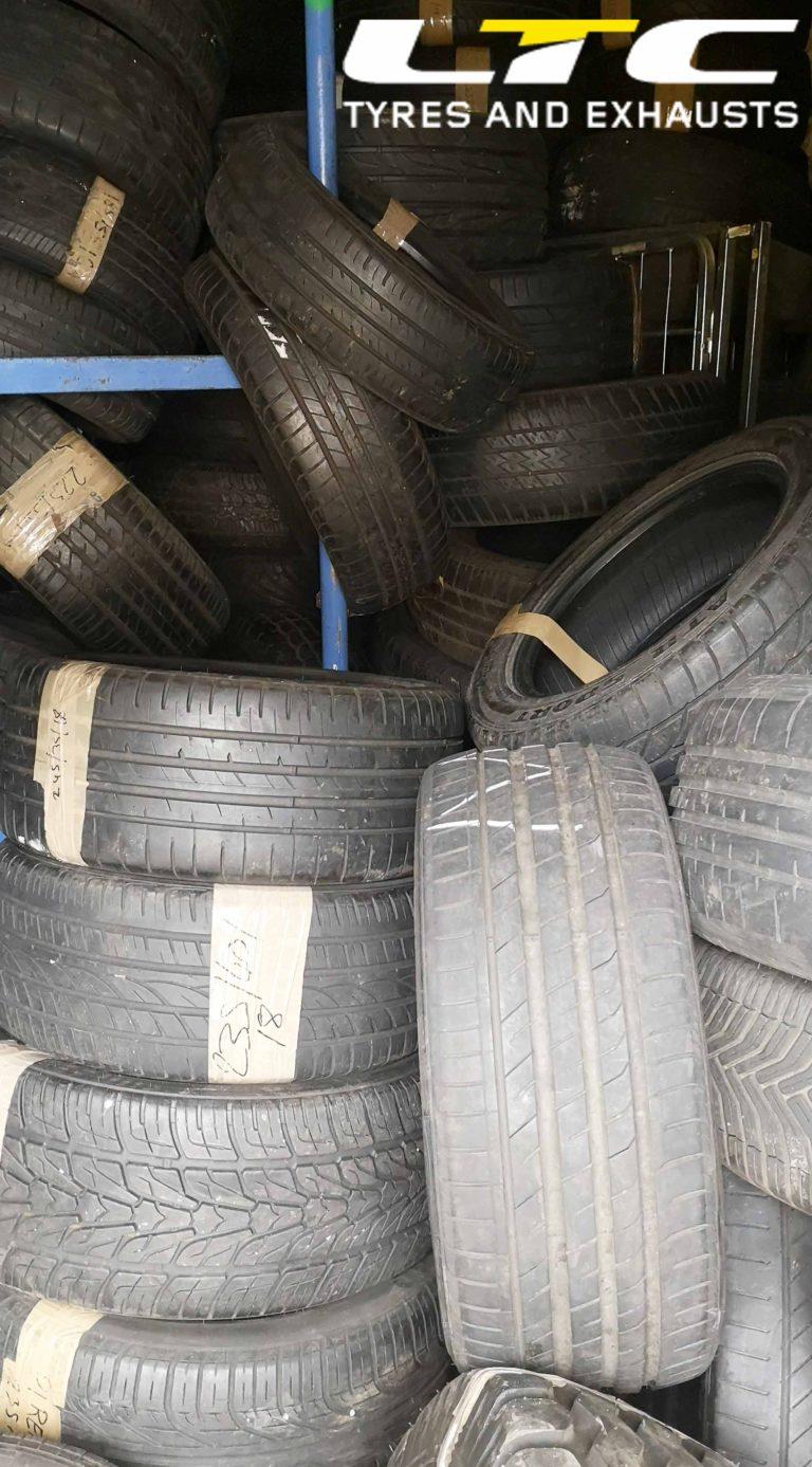 Part Worn Tyres Stourbridge LTC Tyres and Exhausts