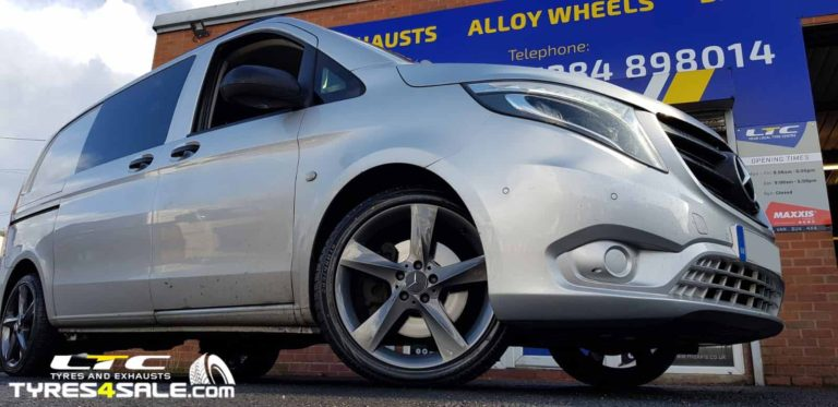 Mercedes Vito Alloy Wheels Refurbuished