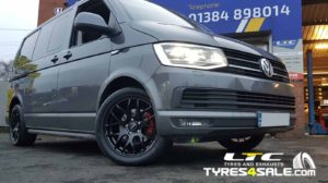 Calibre Exile-R 18″ Alloy Wheels Gloss Black for VW T6