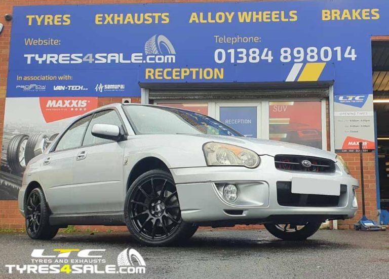 "Bola VST 17"" Alloy Wheels fitted to Subaru Impreza"
