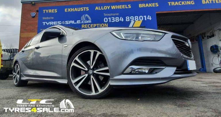 "Dezent TW Alloy Wheels 18"" for Vauxhall Insignia SRI"