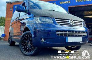 VW T5 T5.1 T6 T6.1 Wolfrace Wolfsburg 20″ Alloy Wheels