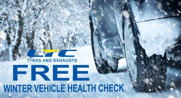 FREE Winter Vehicle Health Check LTC Tyres and Exhausts