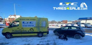 Winter Mobile Tyre Fitting Service LTC Tyres and Exhausts