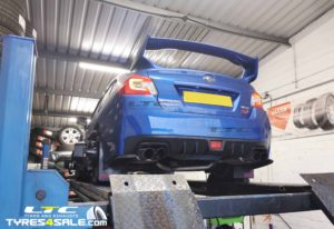 High Performance Hunter Hawkeye 4 Wheel Alignment Tracking