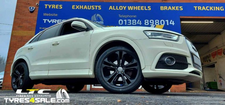 Audi Q3 Alloy Wheel Refurbishment – Powder Coating Service