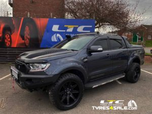 "Ford Ranger Alloy Wheels Axe AT3 20"" and a set of BF Goodrich All Terrain T/A KO2 Tyres"