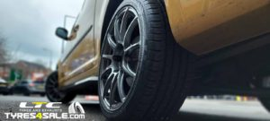 "VW Caddy BOLA VST Alloy Wheels 18"" and a set of Maxxis HP5 Tyres"