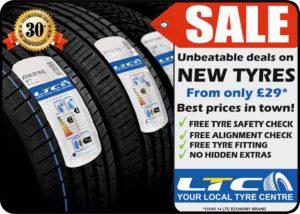 TYRE SALE Unbeatable deals on New Economy Tyres