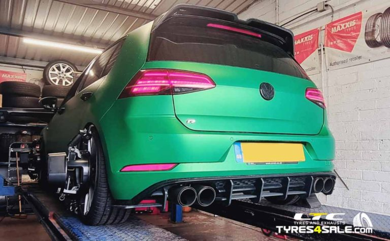 Hunter Hawkeye 4 wheel Alignment LTC Tyres and Exhausts